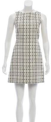 Alice + Olivia Tweed Mini Dress
