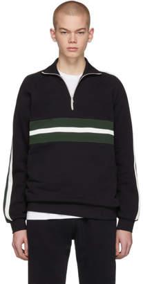 Harmony Black Sofian Zip-Up Sweater