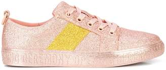 Opening Ceremony glitter flat sneakers