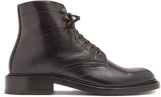 Saint Laurent William lace-up leather ankle boots
