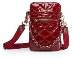 MZ Wallace Micro Crosby Quilted Leather Crossbody Bag