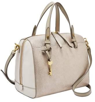 Fossil Rachel Satchel Handbag Champagne