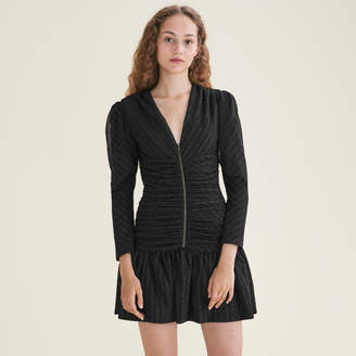 Maje Short draped dress