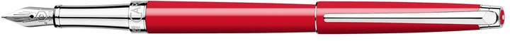 Léman Slim Scarlet Fountain Pen, Red