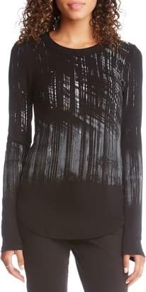 Karen Kane Abstract Print Tee