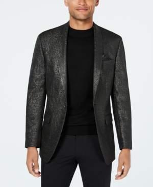 Tallia Men's Big & Tall Slim-Fit Metallic Sport Coat