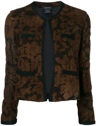 Avant Toi round neck jacquard jacket