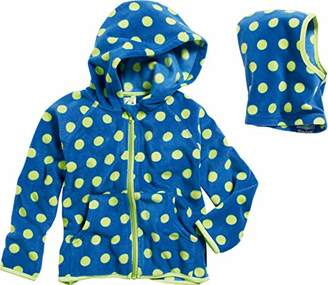 Playshoes Baby Girls Jacke Punkte mit Fleece-schlupfmütze 2 TLG. Set Jacket,(Size: 80)