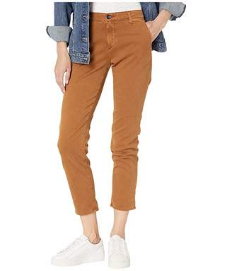AG Adriano Goldschmied Caden Pants in Sulfur Walnut Brown