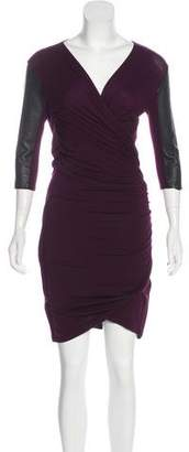 Mason Ruched Knee-Length Dress