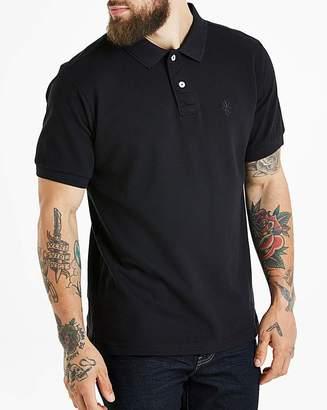 Jacamo Black Short Sleeve Polo