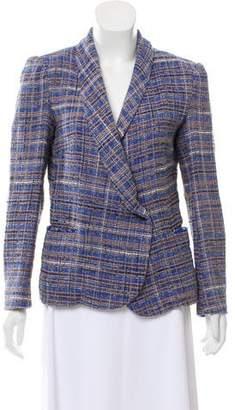 Etoile Isabel Marant Tweed Plaid Blazer