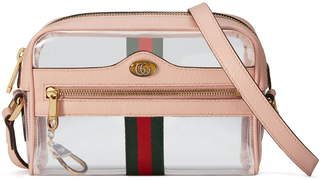 Gucci Ophidia Transparent Convertible Bag