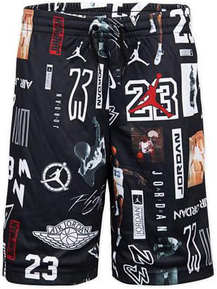 f2403e4e9f0 Jordan Big Boys Gfx Printed Mesh Shorts