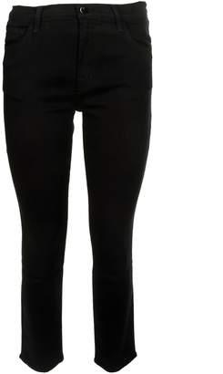 J Brand J-brand Slim Cropped Jeans