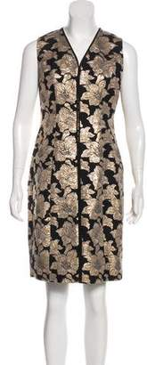 Marni Jacquard Knee-Length Dress