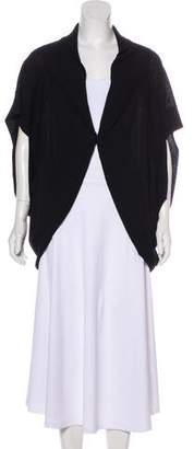 Robert Rodriguez Merino Wool Short Sleeve Cardigan