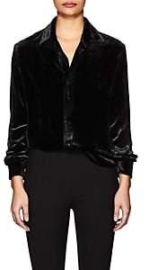 Juan Carlos Obando Women's Velvet Shirt-Black