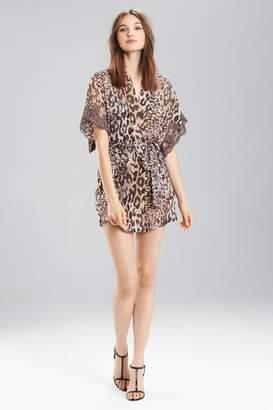 Josie Natori Shadow Leopard Wrap