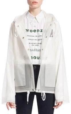 Proenza Schouler PSWL Transparent Rain Coat