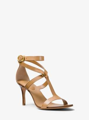 Michael Kors Ashley Calf Leather Sandal