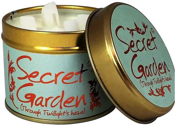 Secret Garden Candle Tin
