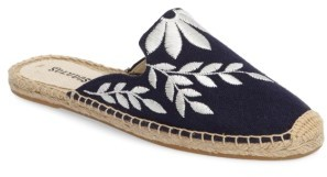 Women's Soludos Embroidered Espadrille Mule $64.95 thestylecure.com