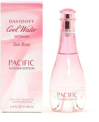 Davidoff Cool Water Sea Rose for Ladies Eau de Toilette Spray, 3.4 oz./100.6 mL