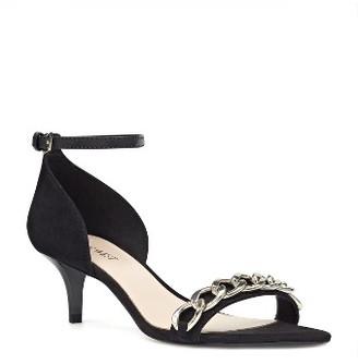 Women's Nine West Lioness Chain Link Sandal $89.95 thestylecure.com
