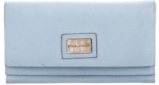 Dolce & Gabbana Textured Leather Wallet $75 thestylecure.com