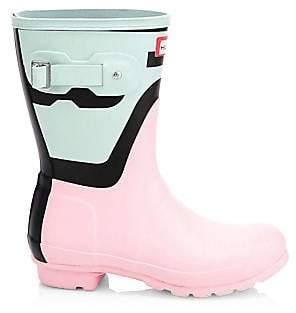 55cda22284ad Hunter Women s Original Short Shadow Rain Boots
