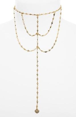 Junior Women's Girly Draped Chain Choker $15 thestylecure.com