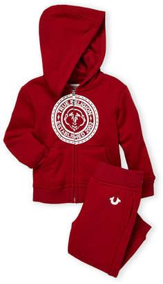 True Religion Infant Boys) Two-Piece Buddha Logo Hoodie & Joggers Set