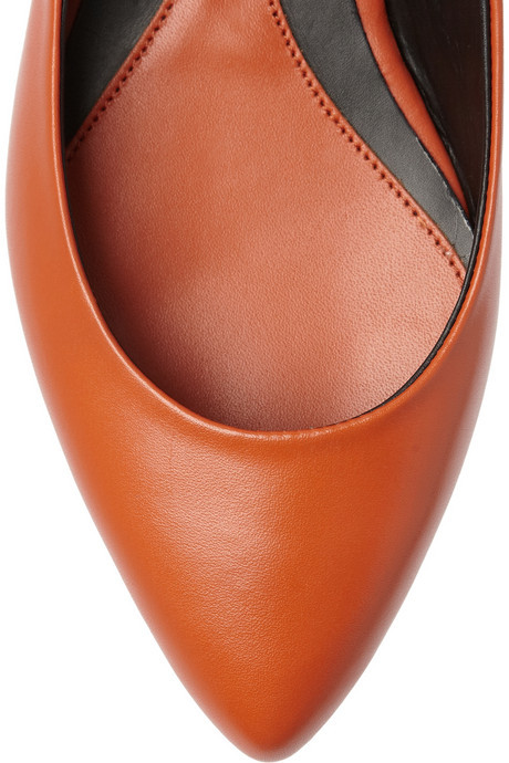 McQ Studded leather flats