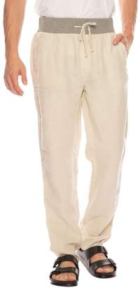 Original Paperbacks Key West Linen Pant With Knit Waist Band