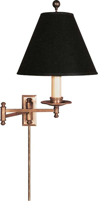 Sandy Chapman DORCHESTER SWING ARM WALL LAMP