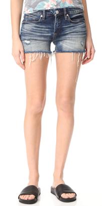 Blank Denim Amped Out Cutoff Shorts $78 thestylecure.com