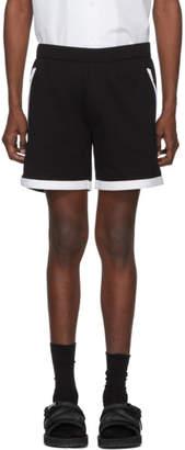 Prada Black Contrast Hem Tech Shorts