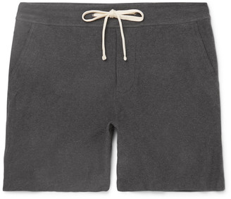 James Perse Cotton-Blend Jersey Shorts $175 thestylecure.com