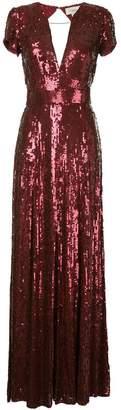 Temperley London sequins long dress