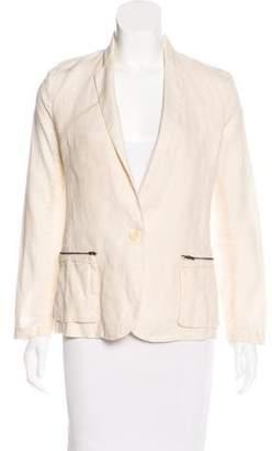 Brochu Walker Long Sleeve Linen Blazer