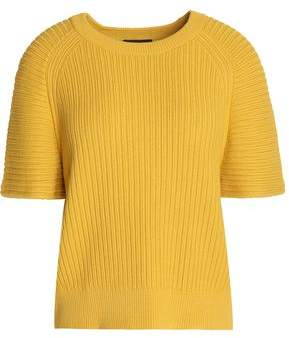 Theory Ribbed-Knit Top
