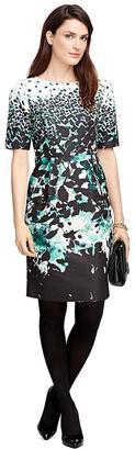 Cotton Blend Floral Print Dress $398 thestylecure.com