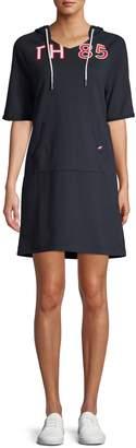 Tommy Hilfiger Short Sleeve Hoodie Dress