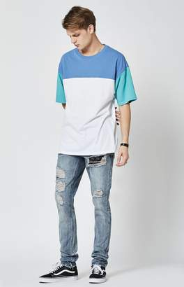 Young & Reckless Robertson Destroyed Tapered Jeans