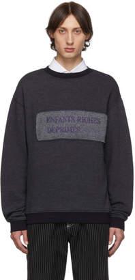 Enfants Riches Deprimes Purple Nouveau Logo Sweatshirt