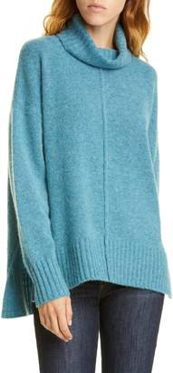 Nordstrom Signature Cashmere Boucle Turtleneck Sweater