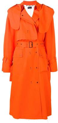 Eudon Choi belted trench coat