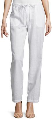 LIZ CLAIBORNE Liz Claiborne Wide-Leg Drawstring Pants - Tall $50 thestylecure.com