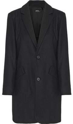 A.P.C. Brushed-Wool Coat